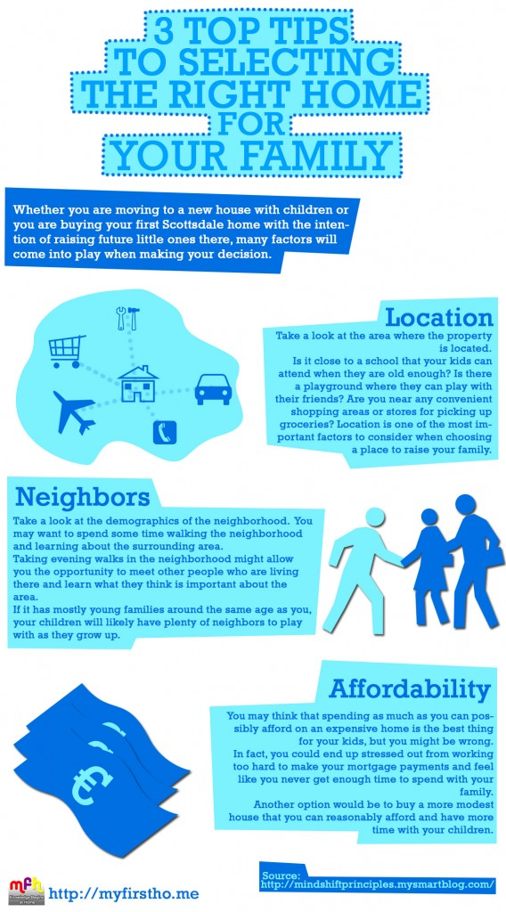 3 Top Tips in Selecting a Home for Your Family