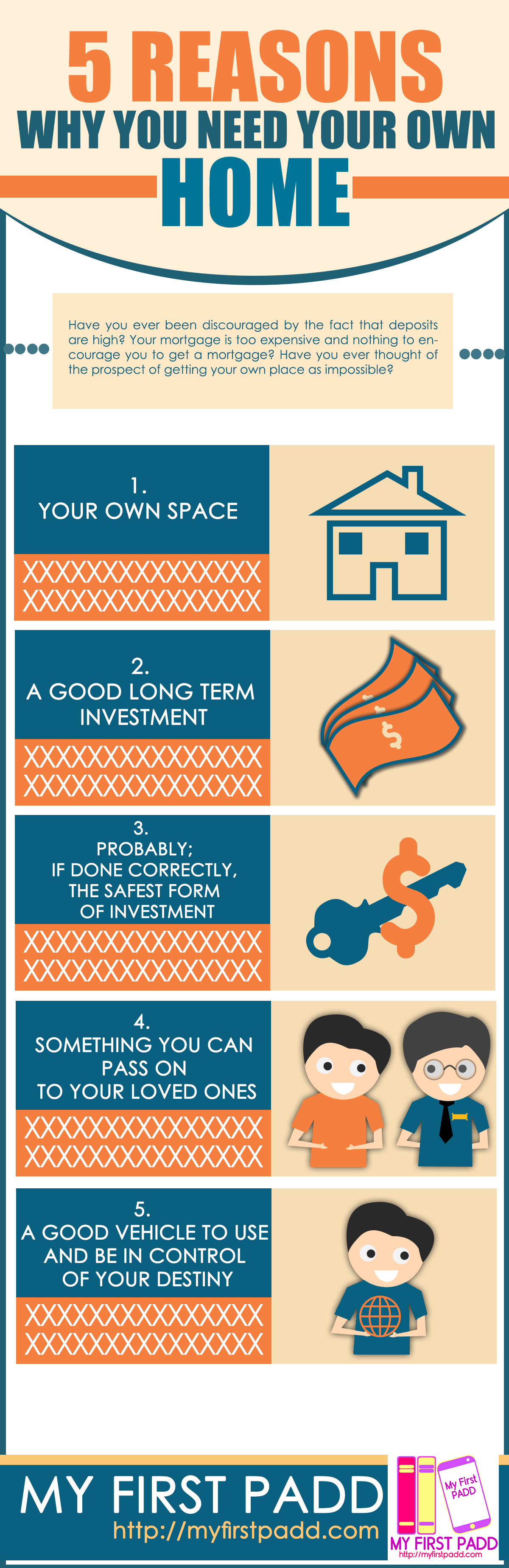 some reasons why you need your own home