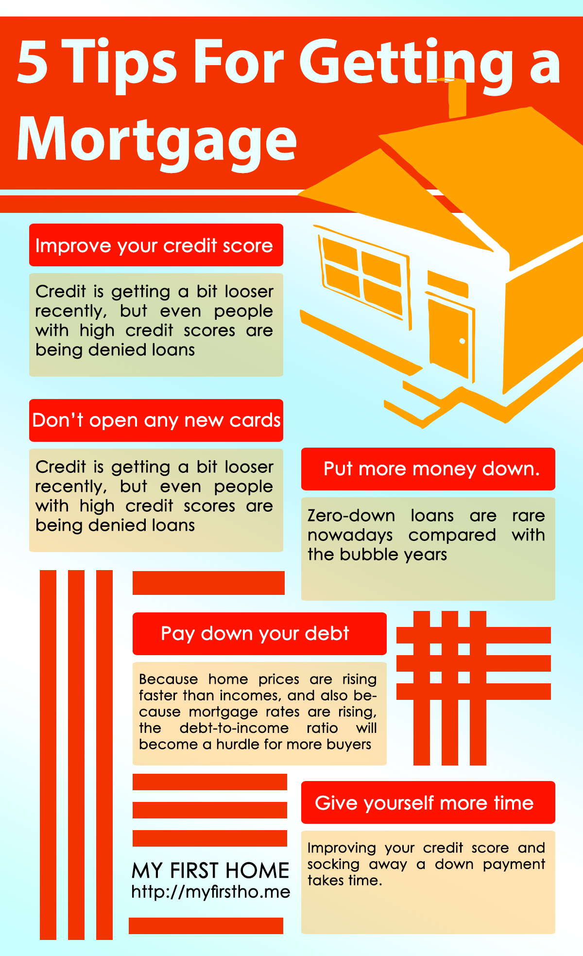 5 Tips For Getting a Mortgage