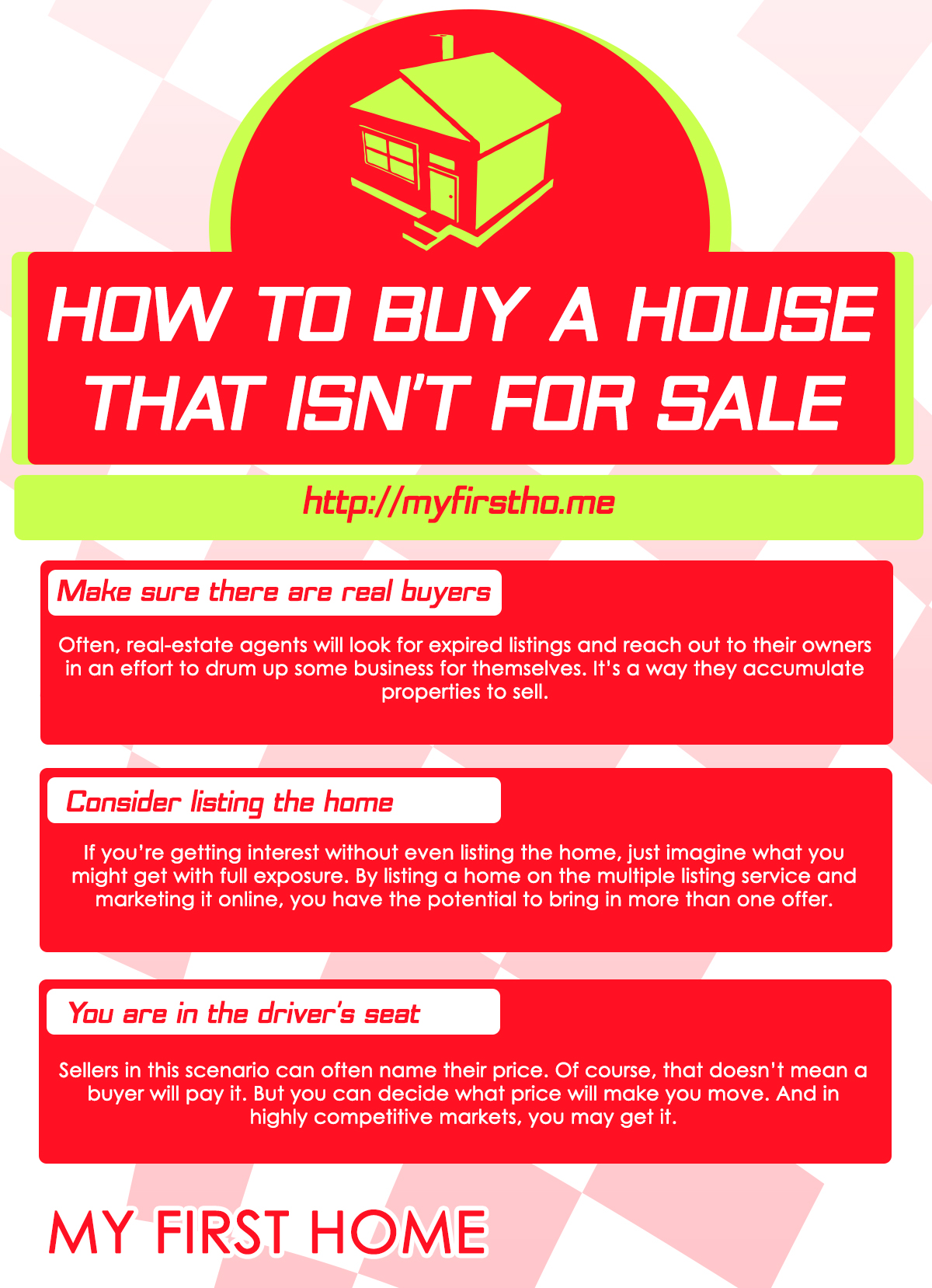 How to buy a house that isn't for sale