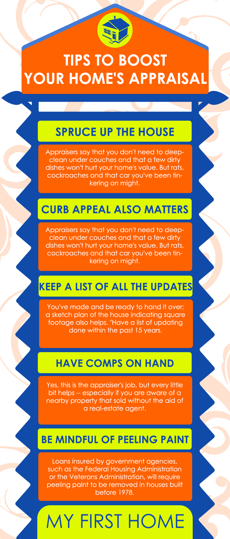 tips to boost your home's appraisal